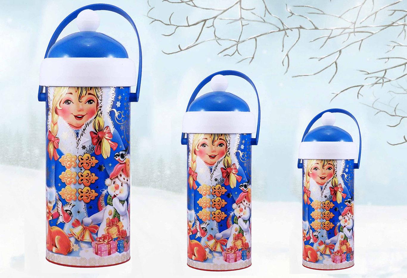 новогодняя упаковка снегурочка
