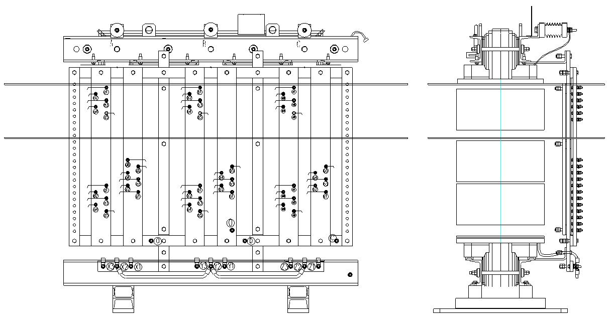 трансформатор высоковольтного преобразователя частоты