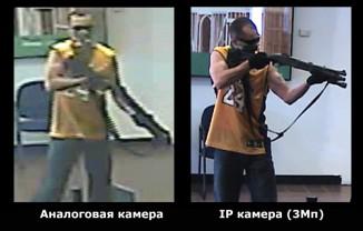 сравнение аналоговой и IP камеры