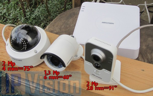 Порівняння 3х Ip камер
