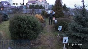 Відстань розпізнавання особи 2х Мп ip камерою Hikvision DS-2CD2022-I на відстані 9 метрів