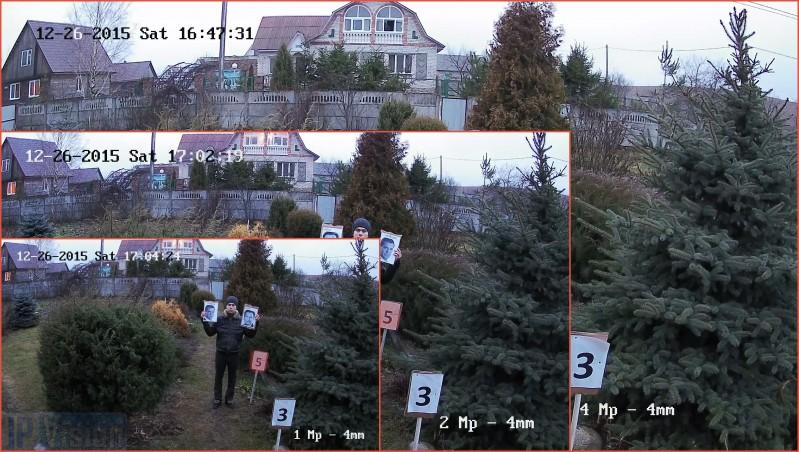 накладення скріншотів з ip камер з різним дозволом