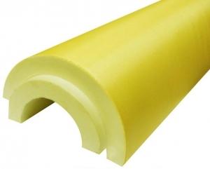 Скорлупа ППУ с покрытием стеклопластик