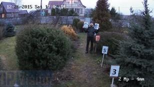 Відстань розпізнавання особи 2х Мп ip камерою Hikvision DS-2CD2022-I на відстані 7 метрів