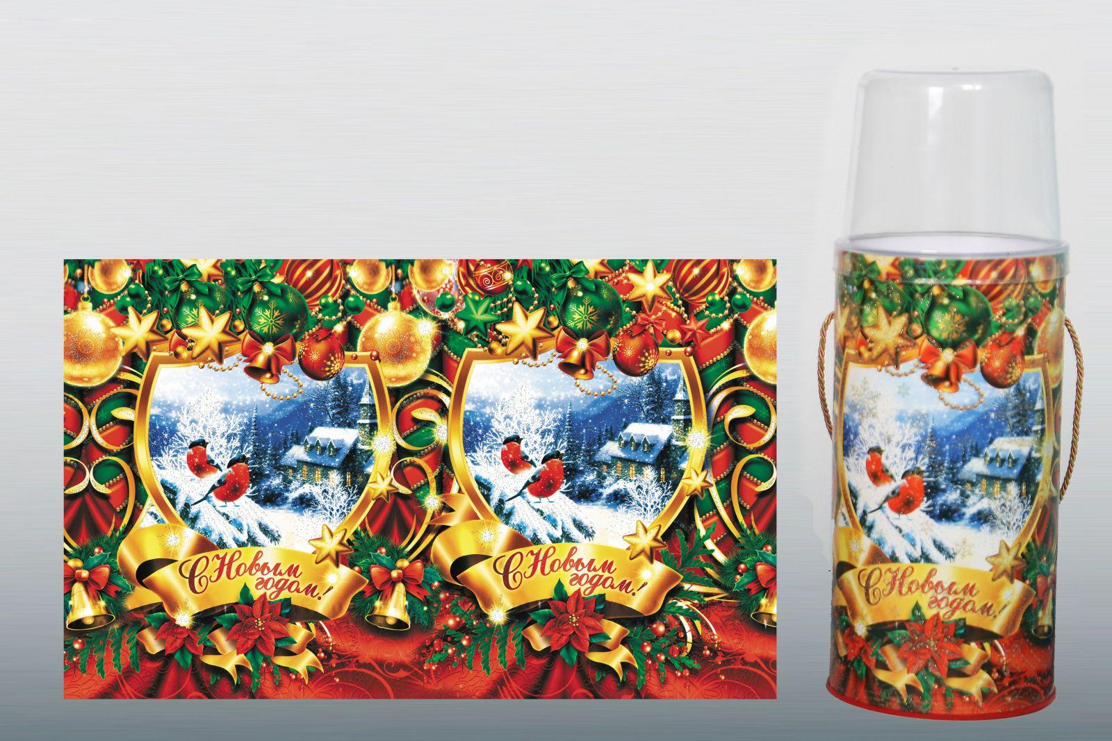 упаковка для новогодних подарков оптом