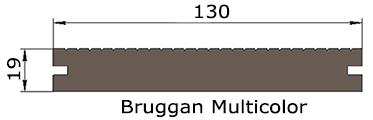 Сечение Bruggan Multicolor