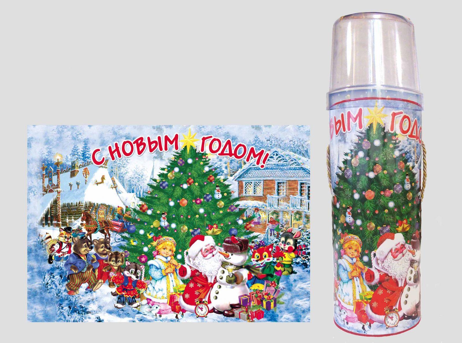 Новогодняя упаковка Украина
