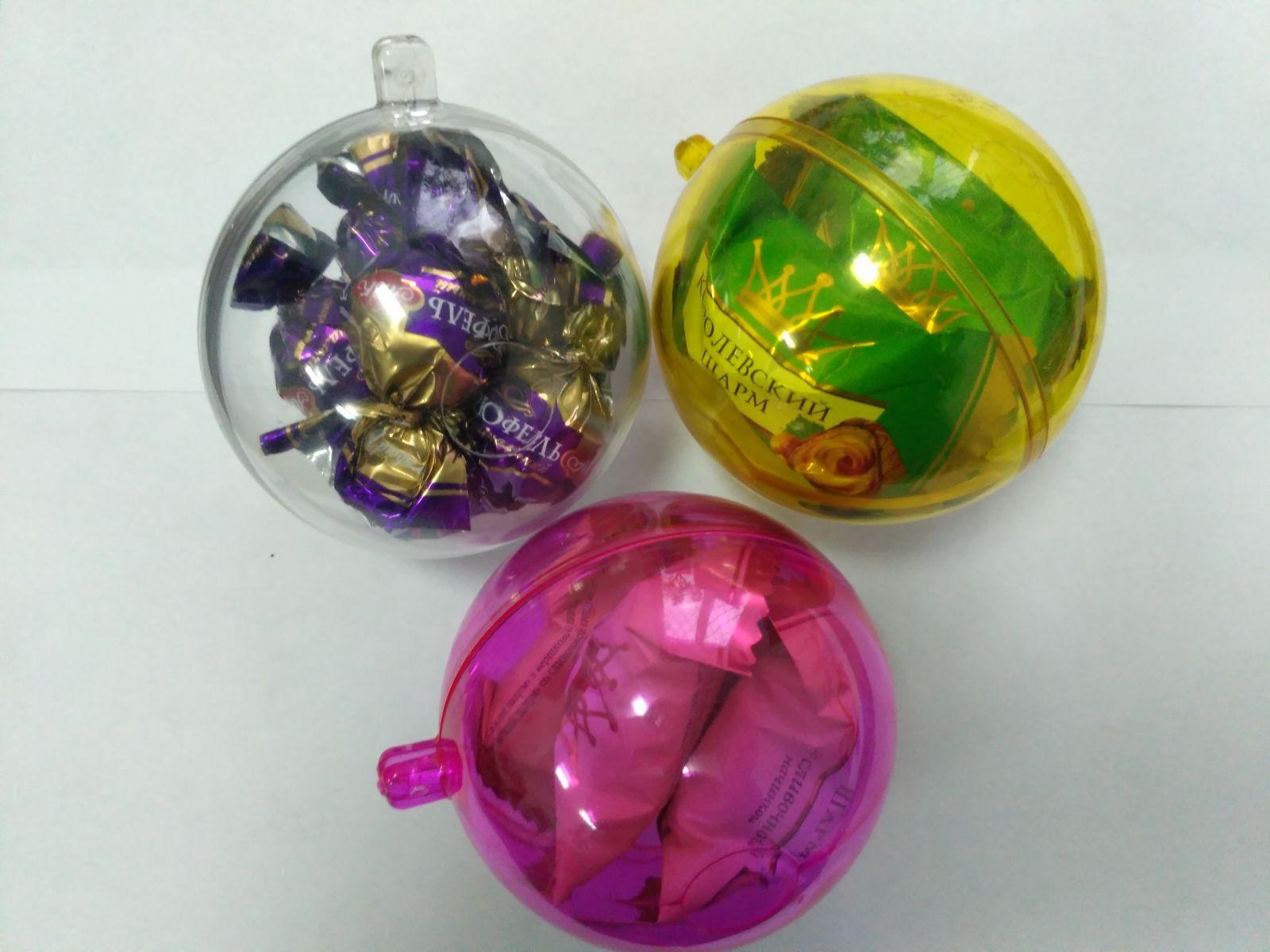 Новогодний шар для конфет