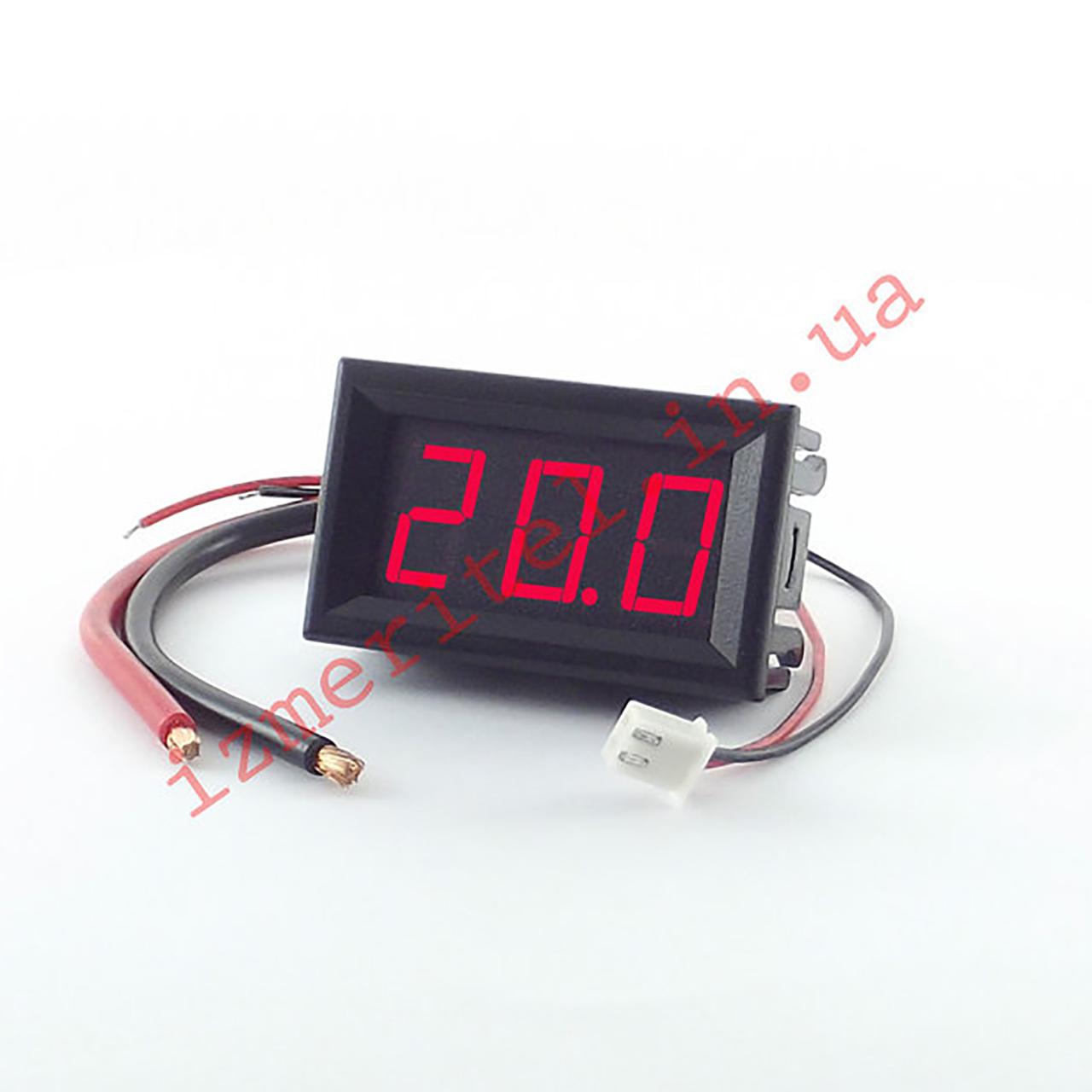 Цифровой амперметр постоянного тока 20A