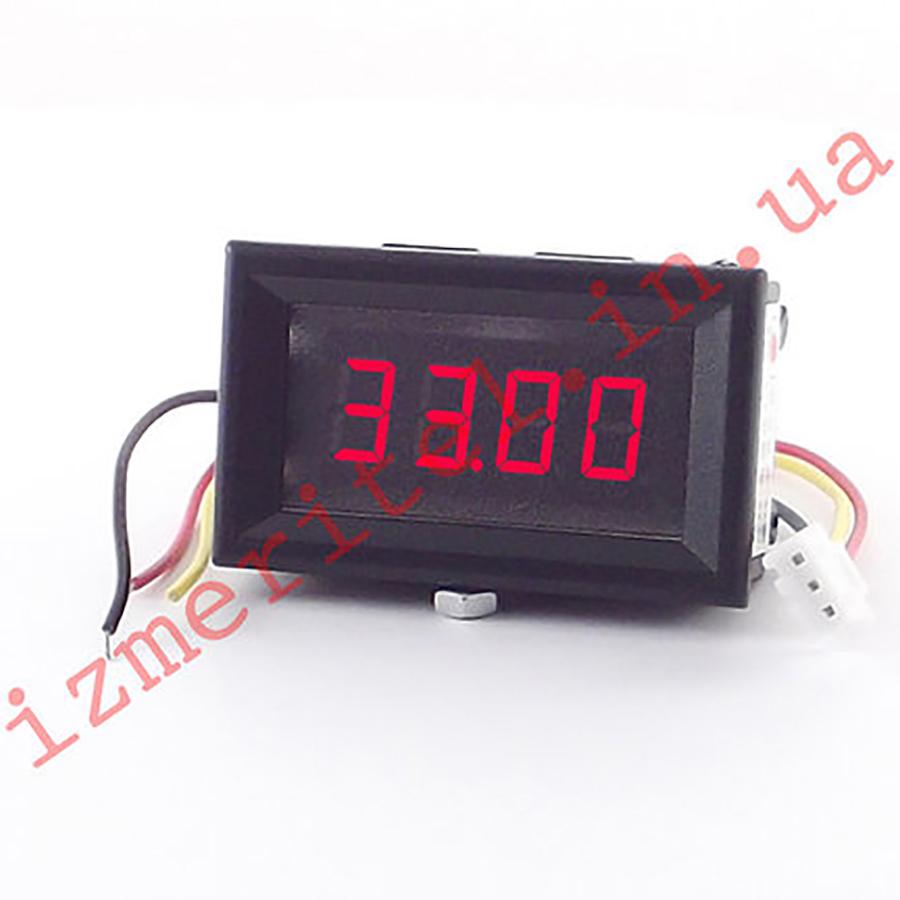 Цифровой вольтметр DC DC 0-33.00 В