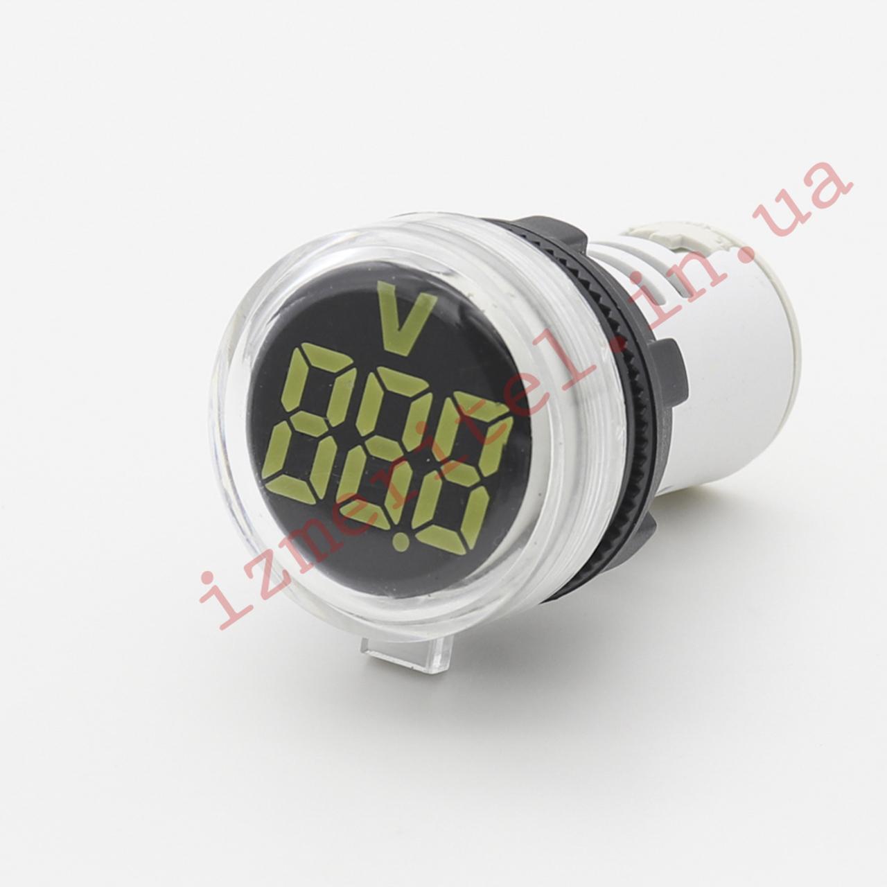 Вольтметр цифровой встраиваемый AC 24-500В
