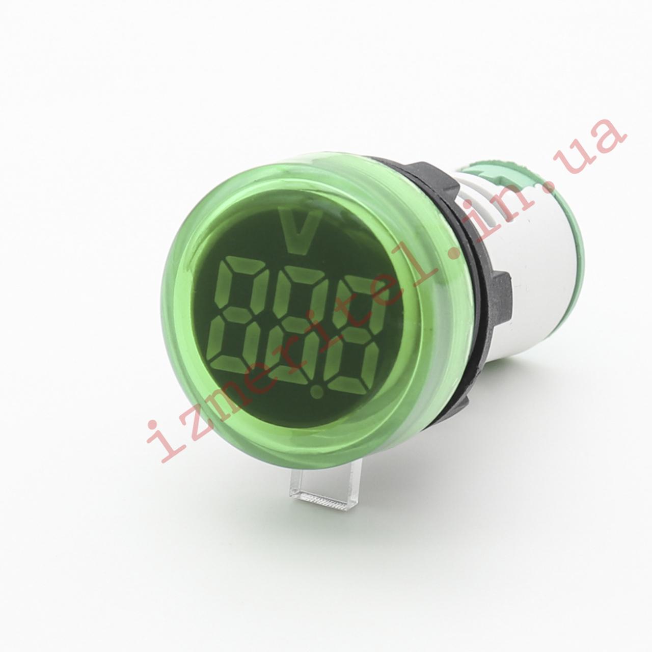 Цифровой панельный вольтметр AC 24-500В