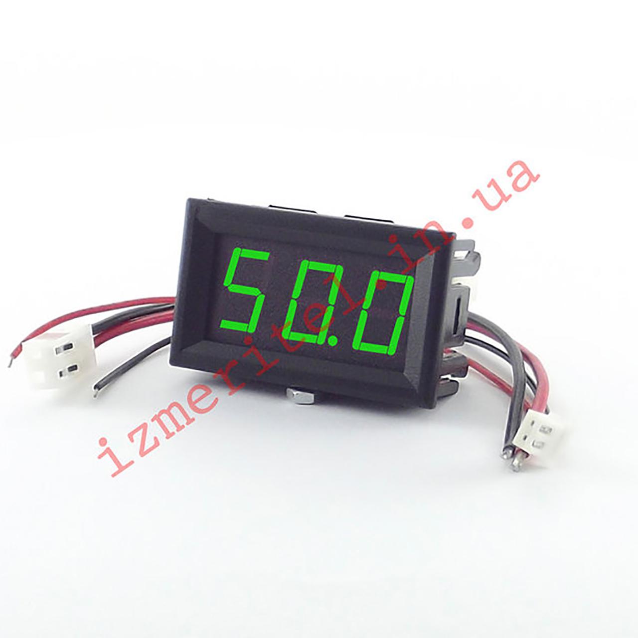 Цифровой амперметр постоянного тока 50А