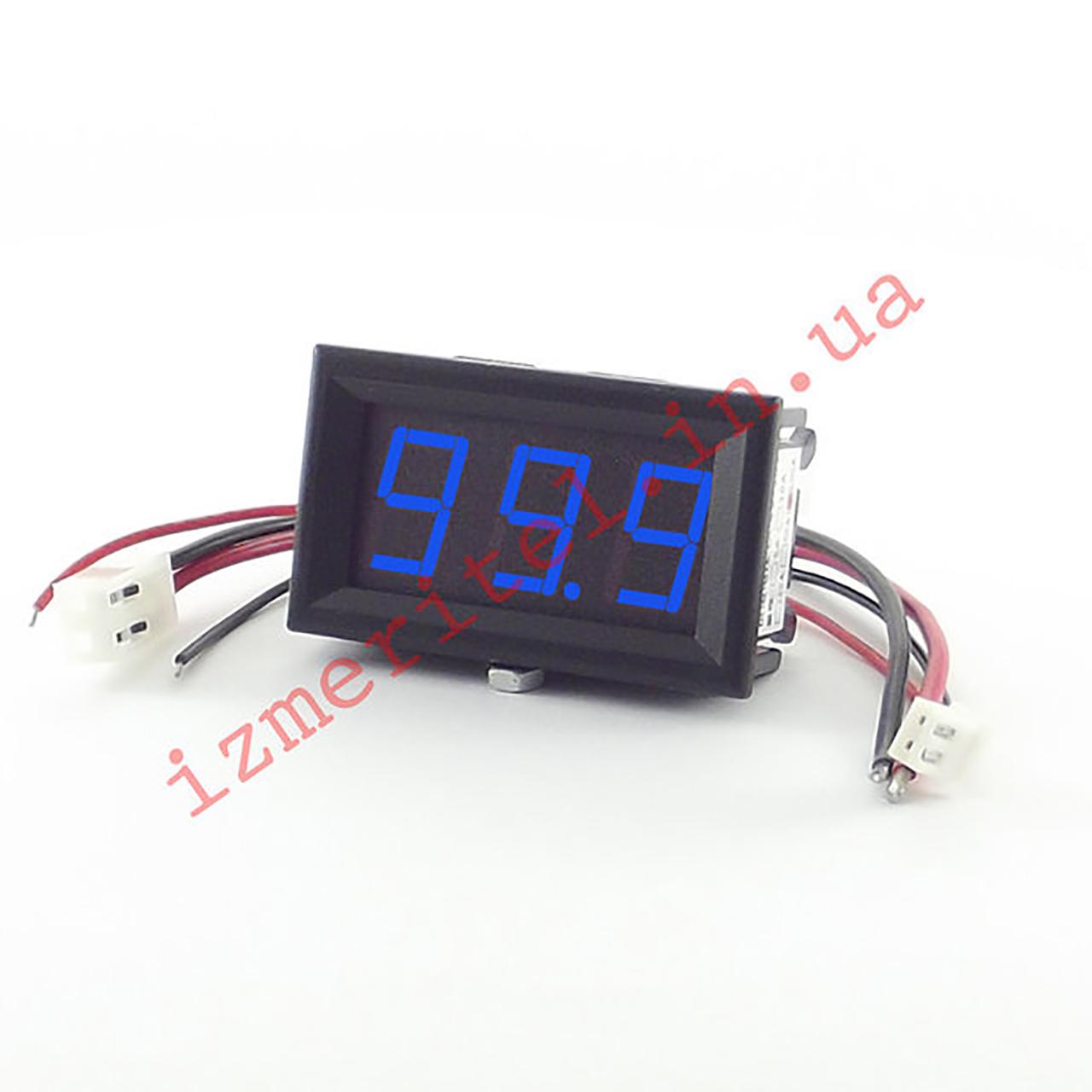 Встраиваемый цифровой амперметр 100A