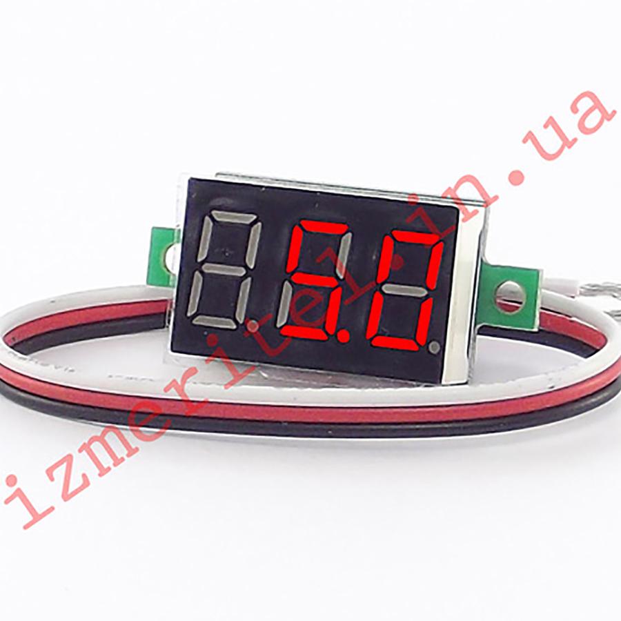 Вольтметр цифровой DC 0-100 В