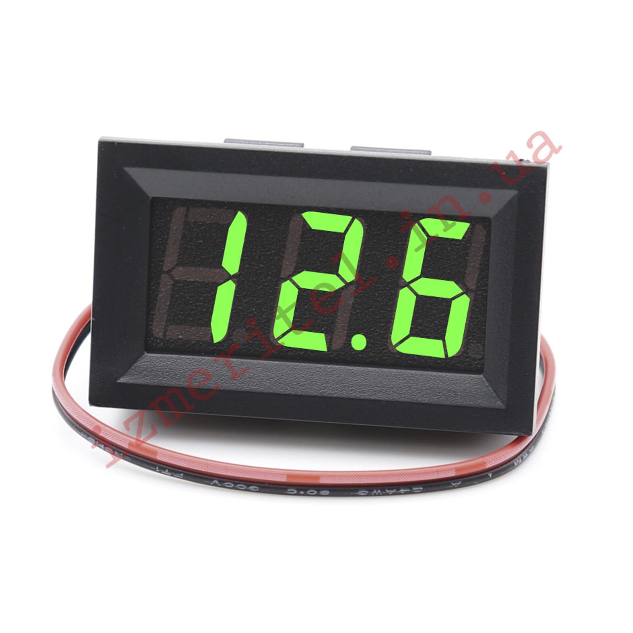 Цифровой вольтметр постоянного тока DC 4.5-30 В