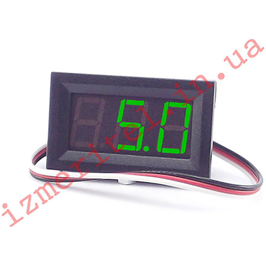 Цифровой вольтметр постоянного тока DC 0-100 В