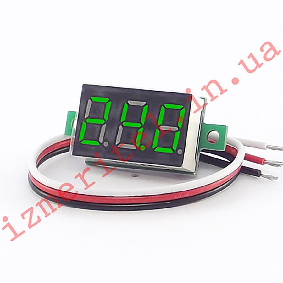 Цифровой вольтметр постоянного тока DC 0-40 В