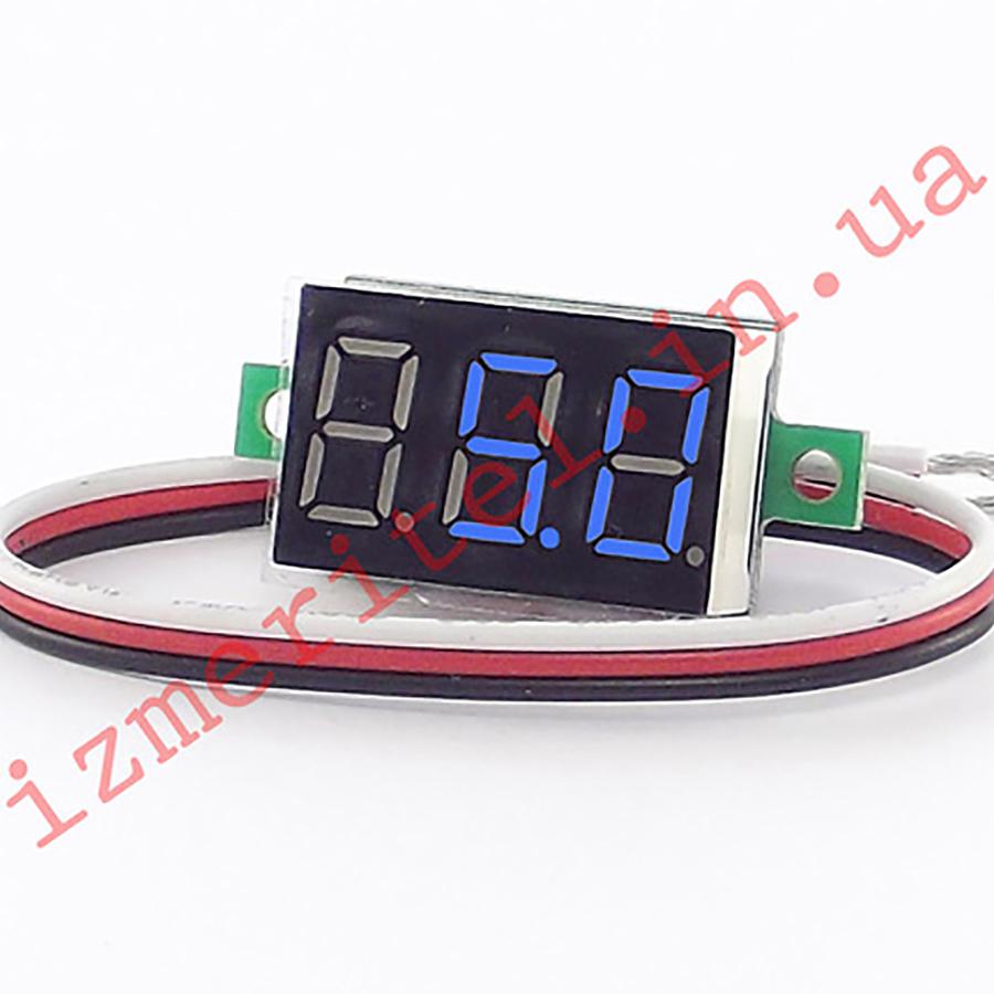 Цифровой вольтметр DC 0-100 В