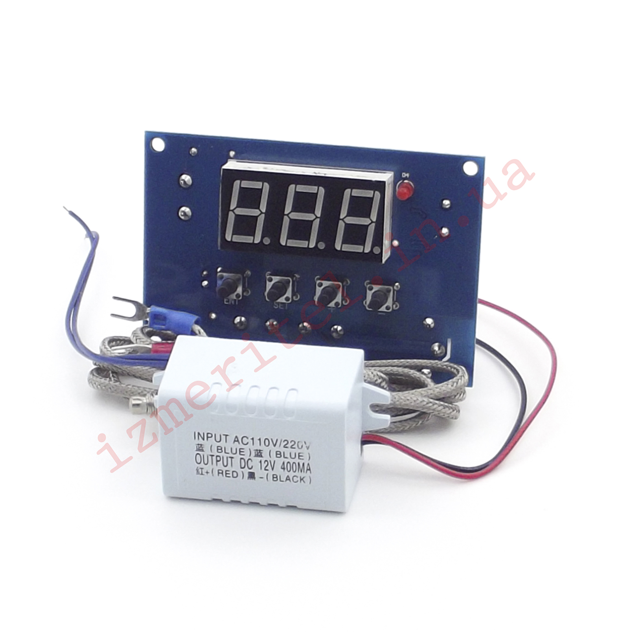 Высокотемпературный терморегулятор XH-W1315, 220В, -99...+999 °С