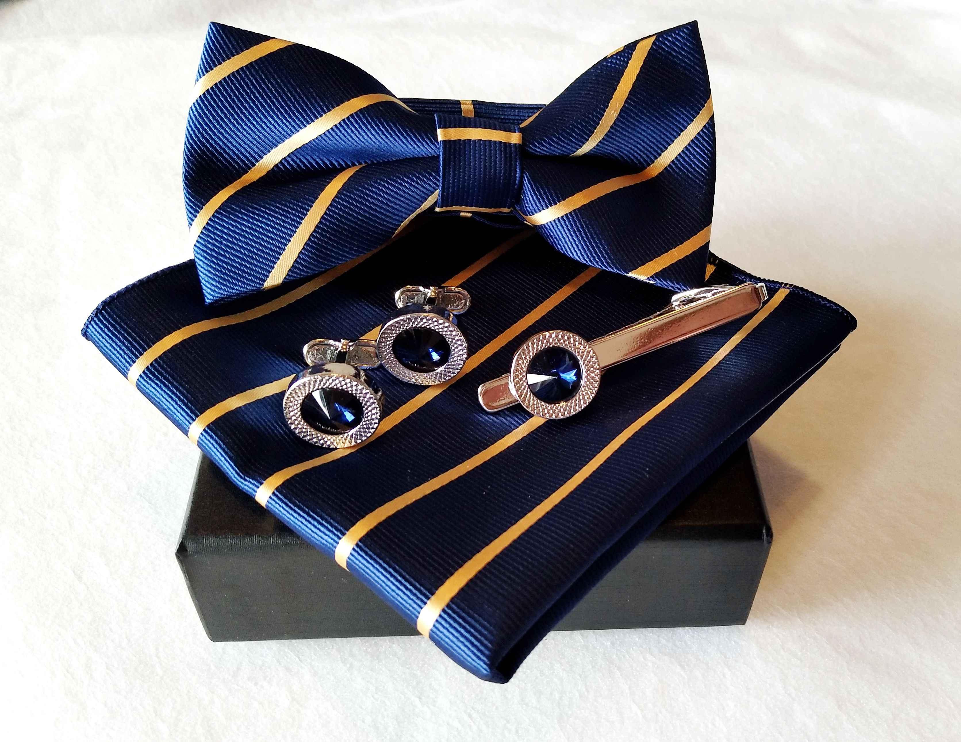 Как выбрать запонки и зажимы для галстука?