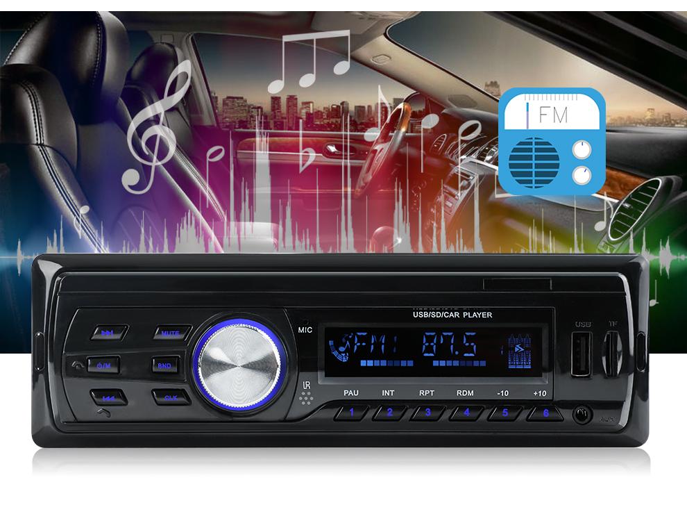 2018 Новый Autoradio 1583 12V Автомобильный радиоприемник Bluetooth 1 din Стерео радиоприемники AUX-IN FMUSB-ресивер MP3-плеер Мультимедиа Автомобильная аудиосистема (9)