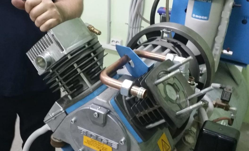 Эксплуатация поршневого компрессора