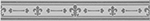 Imola Anthea +14625 Бордюр керамич. L. GIGLIO W, 4x30