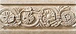 Vallelunga Villa D'este +20733 Бордюр керамич. VILLA D'ESTE AVORIO LISTELLO TIBUR, 6,5x15