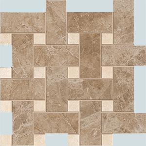 Vallelunga Villa D'este +20759 мозаика V.D'ESTE TORTORA BASKETWEAVE, 30x30