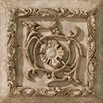 Vallelunga Villa D'este +20763 Вставка керамич. V.D'ESTE TORTORA FORMELLA TIBUR, 15x15