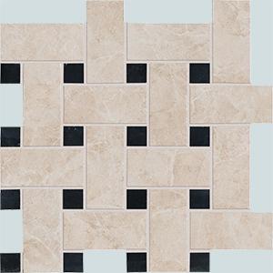Vallelunga Villa D'este +20777 Декор керамич. V.D'ESTE GRIGIO BASKETWEAVE, 30x30