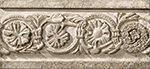 Vallelunga Villa D'este +20780 Бордюр керамич. V.D'ESTE GRIGIO LISTELLO TIBUR, 6,5x15