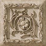 Vallelunga Villa D'este +20781 Вставка керамич. V.D'ESTE GRIGIO FORMELLA TIBUR, 15x15