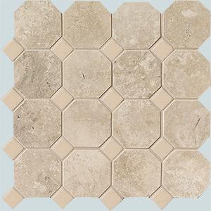 Vallelunga Rialto +23746 мозаика RIALTO BEIGE OTTAGON 30X30, 30x30
