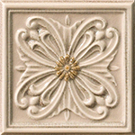 Vallelunga Rialto +23756 Декор керамич. RIALTO TORT.FOR.PAIN 15X15, 15x15