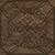 Vallelunga I Marmi +24893 Вставка керамич. TOZZ.CLASSICO MARRON DAMASCO BRONZO, 7x7