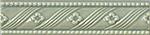 Vallelunga Rialto +24899 Бордюр керамич. RIALTO VI/BL.L.FLORE 3,5X15, 3,5x15