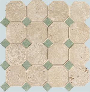 Vallelunga Rialto +24905 мозаика RIALTO VI/BLU OTTAGO 30X30, 30x30