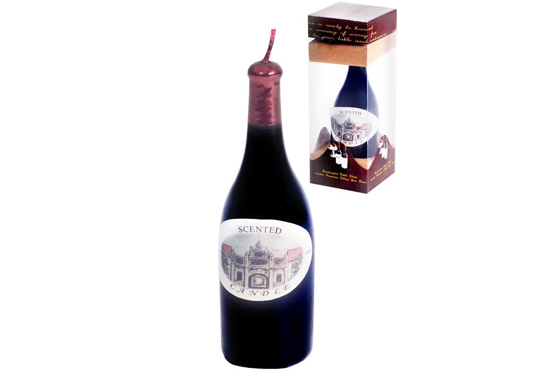Декоративная свеча Вино, 12см
