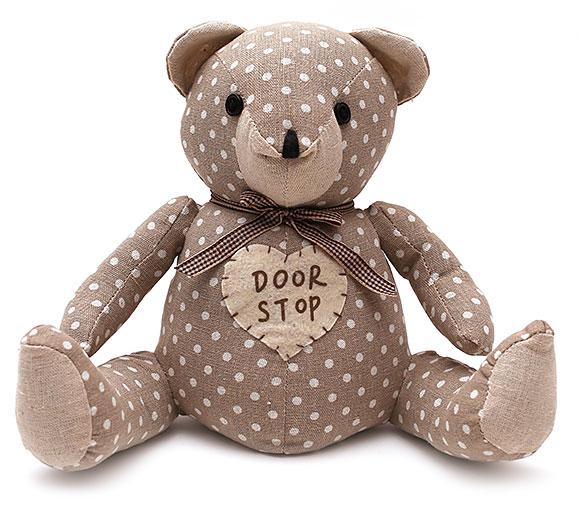 Стоппер для двери Медведь 32см