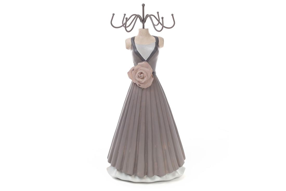 Подставка для украшений Платье, 22см