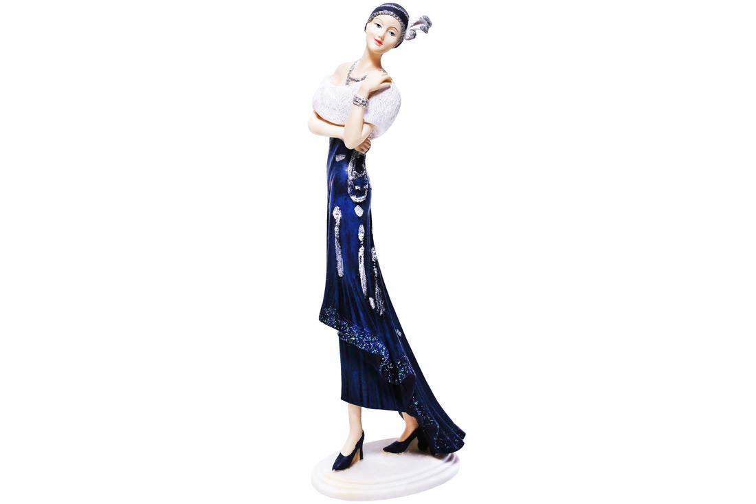 Декоративная статуэтка Девушка 31.5см