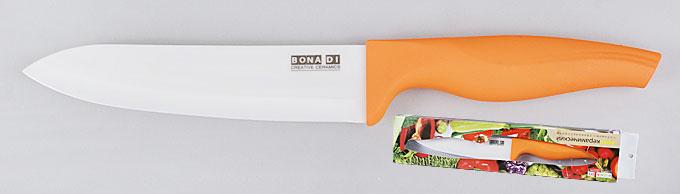 Нож керамический оранжевый, 15см