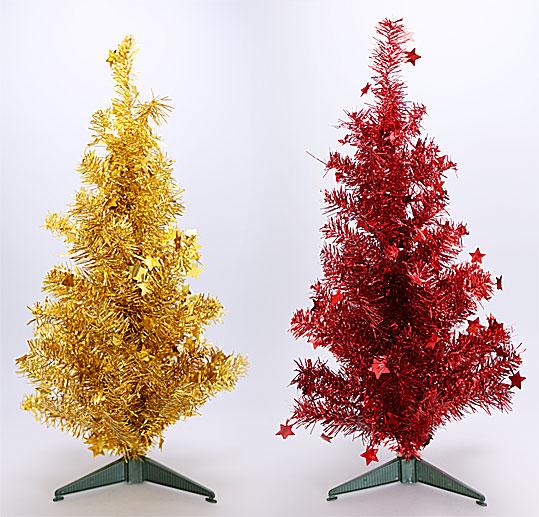 Декоративная елка на подставке, 60см, 2 вида
