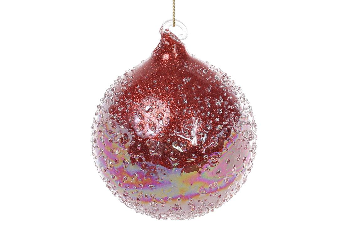 Елочный шар 8см с покрытием