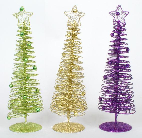 Декоративная елка 30см, 3 вида