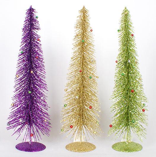 Декоративная елка 50см, 3 вида