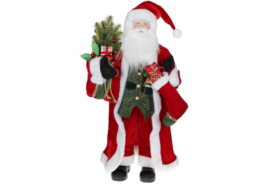 Мягкая игрушка Санта 90см цвет красный BonaDi 845 230