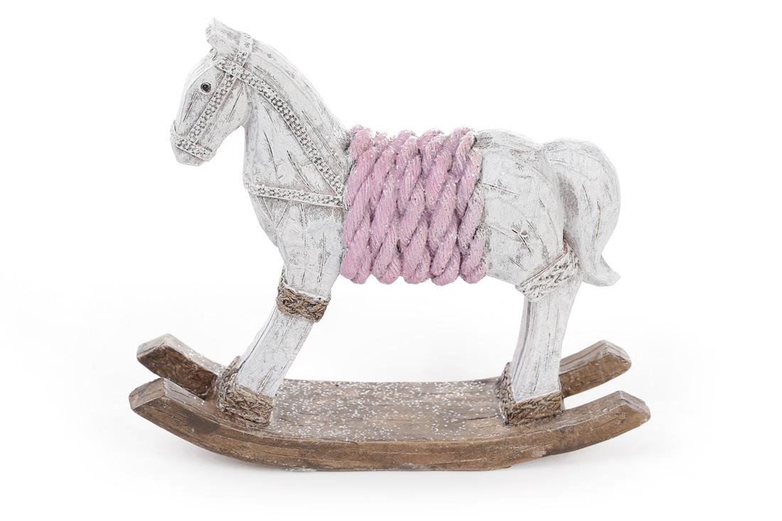 Декоративная статуэтка Лошадка-качалка 17.5см